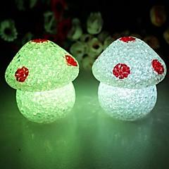 Coway Crystal Sopp fargerike LED Night Light