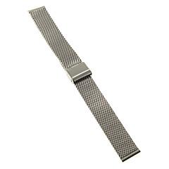 Heren Dames Horlogebandjes Roestvast staal #(0.047) #(16.5 x 1.8 x 0.3) Horlogeaccessoires
