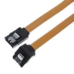 0.35m 1.14ft SATA żeński żeński SATA kabel płaski pomarańczowy daty rozszerzenie do bezpłatnej wysyłki