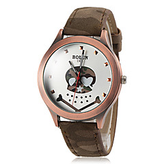 Men's Camouflage Style Cute Skull Pattern PU Band Quartz Wrist Watch (Assorted Colors) Cool Watch Unique Watch