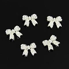 10 buc 3d DIY perla accesorii autocolant bowknot unghii decorare