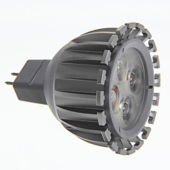 お買い得  LED 電球-3000 lm GU5.3(MR16) LEDスポットライト MR16 LEDの 温白色 AC 12V DC 12V