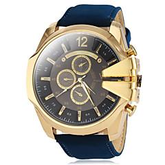 preiswerte Herrenuhren-V6 Herrn Militäruhr / Armbanduhr Armbanduhren für den Alltag PU Band Charme Schwarz / Braun / Grün / Zwei jahr / Mitsubishi LR626