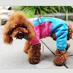 お買い得  犬用ウェア&アクセサリー-犬用品 - 冬 - コスプレ 用- コットン - パンツ - ブルー / イエロー / ローズピンク - XXS / XS / S / M / L