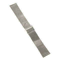 Męskie Damskie Paski do zegarków Stal nierdzewna #(0.047) #(16.5 x 2.2 x 0.3) Akcesoria do zegarków