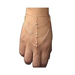 Pentru femei Ring Bracelets stil minimalist costum de bijuterii La modă European Ștras Aliaj Bijuterii Bijuterii Pentru Petrecere Zilnic
