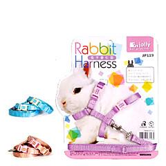 abordables Accesorios para Animales Pequeños-jolly jp119 correa de la tracción para mascotas conejos (colores aleatorios)