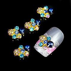 10 buc glitter stras accesorii din aliaj DIY unghii decorare