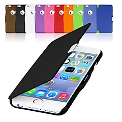 PU Leather Magnetic Flip Hard Case Cover for iPhone 6 (Assorted Colors)