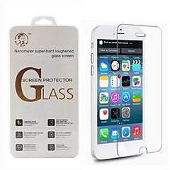 Недорогие Защитные пленки для iPhone 6s / 6-Защитная плёнка для экрана Apple для iPhone 6s iPhone 6 1 ед. Защитная пленка для экрана Взрывозащищенный Уровень защиты 9H