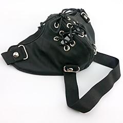 Maska Zainspirowany przez Tokyo Ghoul Cosplay Anime Akcesoria do Cosplay Maska Černá PU Leather (skóra kompozytowa) Męskie
