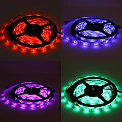 preiswerte LED Lichtstreifen-wasserdicht 5m 150x5050 SMD RGB LED Streifen Lampe mit 24-Tasten-Fernbedienung Set (12V)