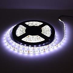 preiswerte LED Lichtstreifen-wasserdicht 5m 300x5050 SMD weiße LED-Streifen-Lampe mit Schnurdimmer-Set (12V)
