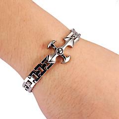 moda forma de cruz brazalete de tenis aleación de plata unisex (1 unidad)