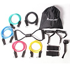 شامل حبل سحب لياقة بدنية شاملة (12 مجموعات)
