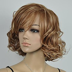 negro peluca Pelucas para mujeres Rectos Las pelucas del traje Pelucas de Cosplay