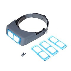 Double Lens Head-mounted Headband Reading Magnifier Loupe Head Wearing 4 Magnifications Cool Watch Unique Watch