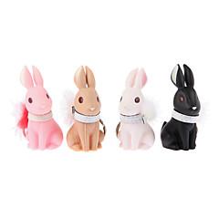 Llavero Juguetes Llavero Rabbit Dibujos 4 Piezas Navidad Cumpleaños Día del Niño Regalo