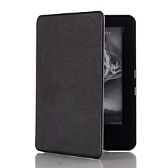 Shy Bear™ 6 Inch Magnet Leather Cover Case for Amazon New Kindle 2014 Ereader