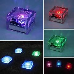 태양 모방 크리스탈 유리는 빛 정원 데크 LED 램프