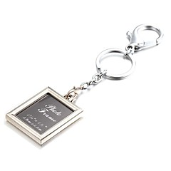 Square Selfie Photo Album Zinc Alloy Keychain(First 10 Customers With Box Added)