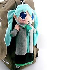 Taske Inspireret af Vokaloid Hatsune Miku Anime / Videospil Cosplay Tilbehør Taske Blå Polar Fleece Mand / Kvindelig