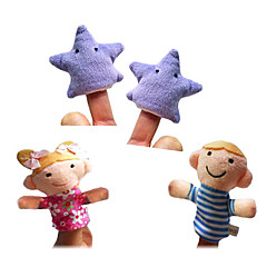 Pacynka na palec Zabawki Wysoka jakość Nowoczesne zabawki Chłopcy / Dla dziewczynek Tkanina