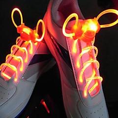 お買い得  LED アイデアライト-ledスポーツシューズレースグローシューズストリングラウンドフラッシュライトシューズレースシューズレース