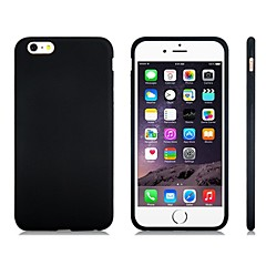 billige Etuier til iPhone 5S/SE-Etui Til Apple iPhone 8 iPhone 8 Plus iPhone 5 etui iPhone 6 iPhone 6 Plus iPhone 7 Plus iPhone 7 Stødsikker Bagcover Helfarve Blødt
