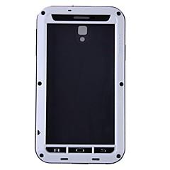 Varten Samsung Galaxy Note Iskunkestävä / Vedenkestävä / Pölynkestävä Etui Kokonaan peittävä Etui Panssari Metalli Samsung Note 3