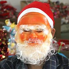 abordables Sombreros y Accesorios para la Cabeza-fiesta de navidad de tres piezas traje de barbas sombrero unisex de enmascarar