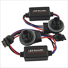 preiswerte LED Autobirnen-Auto 3157 führte Licht Warnung Fehlerunterdrückungs Bypass Lastverdrahtung Widerstand Decoder - 2St
