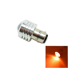 cheap LED Car Bulbs-1157 (P21/5W Ba15d) 3W 3COB 635-700nm Red Light LED Bulb for Car Reversing Lamp (DC12V /1pcs)
