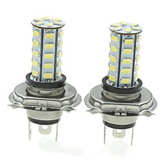cheap -H4 20W 36X5730SMD 800-1200LM 6000-6500K White Light Led Bulb for Car Fog Lamp(A pair/AC12-16V)