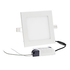 Plafondlampen 45 SMD 2835 800-900 lm Koel wit 6000-7000 K AC 85-265 V