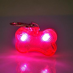 고양이 / 개 태그 LED 조명 / 코스프레 무지개 플라스틱