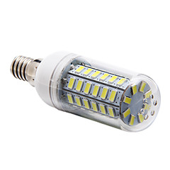 cheap LED Bulbs-5W E14 LED Corn Lights T 56 leds SMD 5730 Natural White 450lm 6000-6500K AC 220-240V