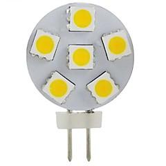 G4 Faretti LED 6 leds SMD 5050 Decorativo Bianco caldo 200lm 2800-3200K DC 12V