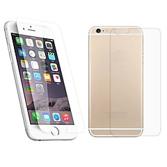 cheap iPhone 6s / 6 Plus Screen Protectors-Screen Protector Apple for iPhone 6s iPhone 6 Tempered Glass 1 pc Front & Back Protector Explosion Proof 2.5D Curved edge