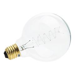 E26/E27 Lâmpada Redonda LED 1 leds Branco Quente 200-260lm 2700-3500K AC 220-240V