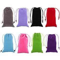 βελούδο βαμβάκι σχοινί προστατευτική τσάντα για το iPhone 6 / 6δ (διάφορα χρώματα)