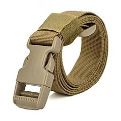 Outdoor Backpack Accessory High Intensity Nylon Buckle Tying Band - Yellow
