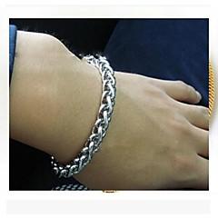 Armbanden met ketting en sluiting Kostuum juwelen Roestvast staal Titanium Staal Draak Sieraden Voor Feest Dagelijks Causaal