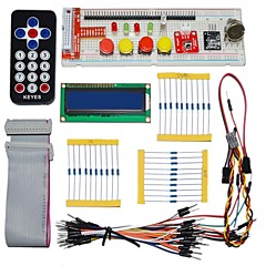 cheap DIY Kits-KEYES Electronic Parts Pack for Raspberry PI (Remote Control Black)
