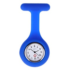 preiswerte Tolle Angebote auf Uhren-Damen Taschenuhr Quartz Armbanduhren für den Alltag Silikon Band Analog Süßigkeit Schwarz / Weiß / Blau - Rot Rosa Hellblau Ein Jahr Batterielebensdauer