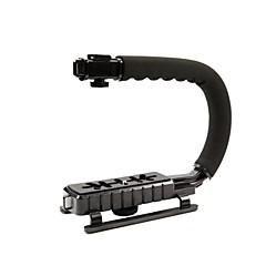 cc-vh02 videó fogantyú steadycam stabilizátor kézi markolat Canon Nikon Sony DSLR fényképezőgépek mini DV kamera