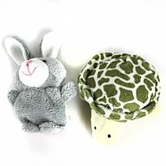 abordables Marionetas-Rabbit Marionetas de dedo Marionetas Bonito Novedades Encantador Dibujos Felpa Algodón Chico Chica Juguet Regalo