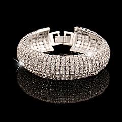 olcso Karkötők-Lánc & láncszem karkötők utánzat Diamond Egyedi Divat Ékszerek Arany Ezüst Ékszerek 1db