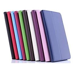お買い得  タブレット用ケース-エイサーのフルボディケース用ケースフルボディケーススタンド付きエイサーb1-810用ソリッドカラーハードpuレザー