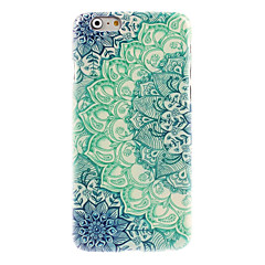 abordables Fundas para iPhone 6s Plus-Para Funda iPhone 6 / Funda iPhone 6 Plus Diseños Funda Cubierta Trasera Funda Mandala Dura PolicarbonatoiPhone 6s Plus/6 Plus / iPhone